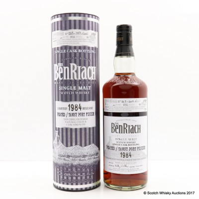 BenRiach 1984 29 Year Old Peated/Tawny Port Finish