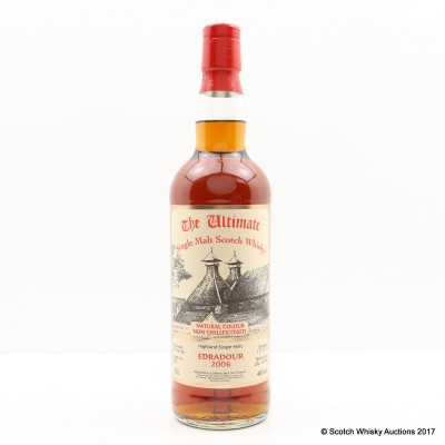 Edradour 2006 9 Year Old The Ultimate