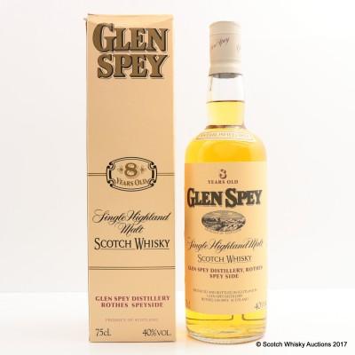 Glen Spey 8 Year Old 75cl