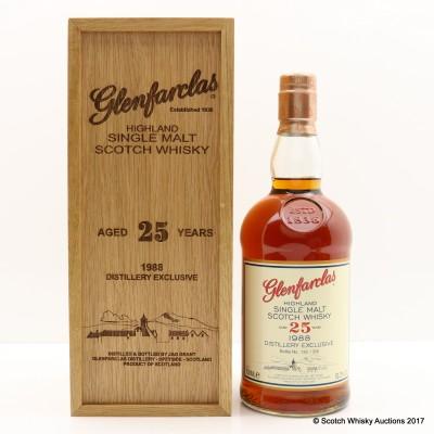 Glenfarclas 1988 25 Year Old Distillery Only