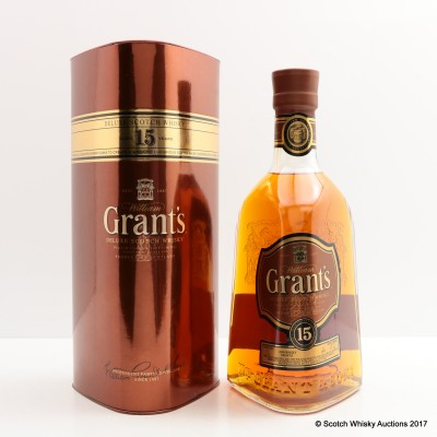 Grant's 15 Year Old Deluxe 75cl