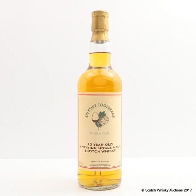 Speyside Cooperage 10 Year Old Acorn To Cask
