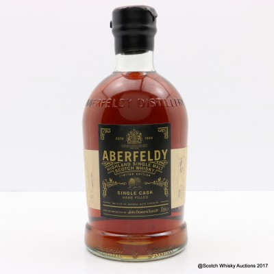 Aberfeldy 1999 Single Cask Hand Filled