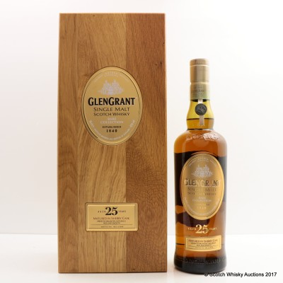 Glen Grant 25 Year Old Rare Collection For The Major