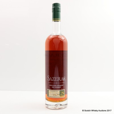 Sazerac 18 Year Old Spring 2015 Release 75cl