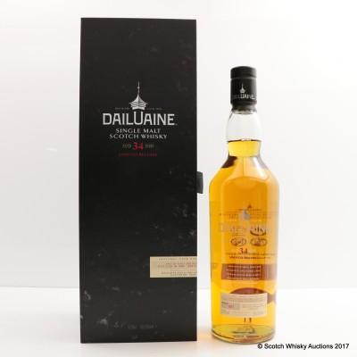 Dailuaine 1980 34 Year Old