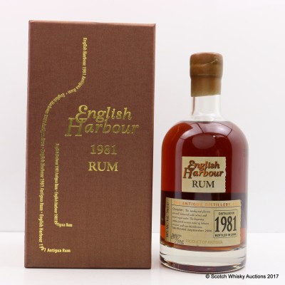 Antigua 1981 English Harbour Rum