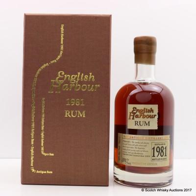 Antigua 1981 English Harbour Rum