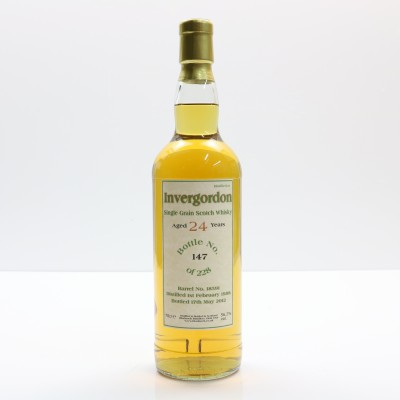 Invergordon 1988 24 Year Old Bladnoch Forum Bottling