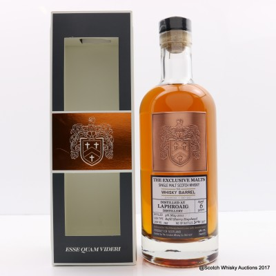 Laphroaig 2011 6 Year Old Exclusive Malts For The Whisky Barrel