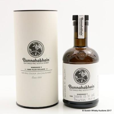 Bunnahabhain Moine 13 Year Old Bourbon Single Cask #300118 20cl