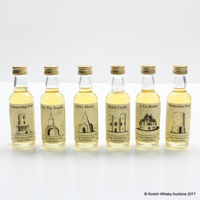 Assorted Whisky Connoisseur Minis 6 x 5cl