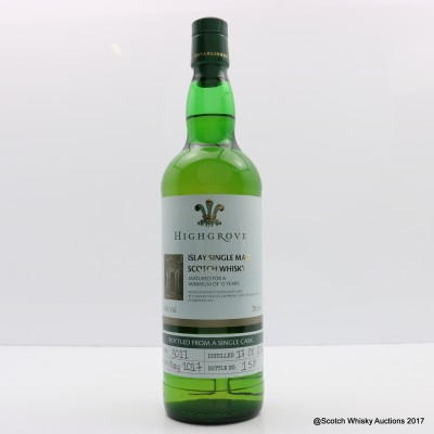 Laphroaig 2004 12 Year Old Highgrove #3011