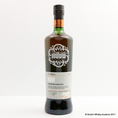 SMWS R10.1 Trinidad Rum 1991 25 Year Old