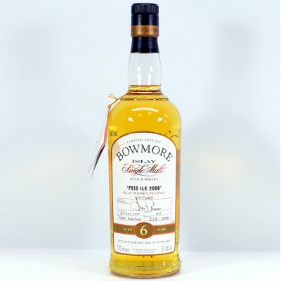 Bowmore Feis Ile 2006 6 Year Old