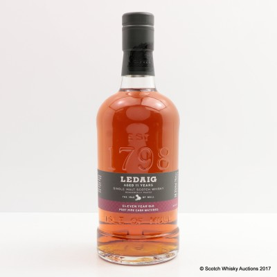 Ledaig 11 Year Old Port Pipe Distillery Exclusive