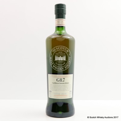 SMWS G8.7 Cambus 1989 27 Year Old