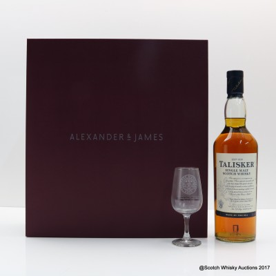 Talisker Triple Matured 2013 Edition Friends Of Classic Malts Exclusive Gift Set With Glass