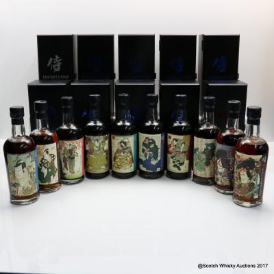 Karuizawa 30 Year Old Samurai Collection 10 x 70cl