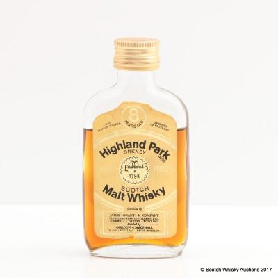 Highland Park 8 Year Old Gordon & Macphail Mini 5cl