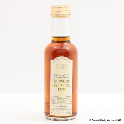 Linkwood 1979 17 Year Old Murray McDavid Mini 5cl