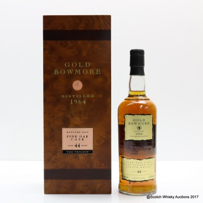 Bowmore Gold 1964 44 Year Old