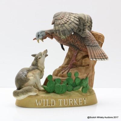 Wild Turkey Porcelain Decanter