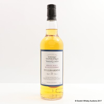 Tullibardine 21 Year Old A.D. Rattray For The Whisky Experience