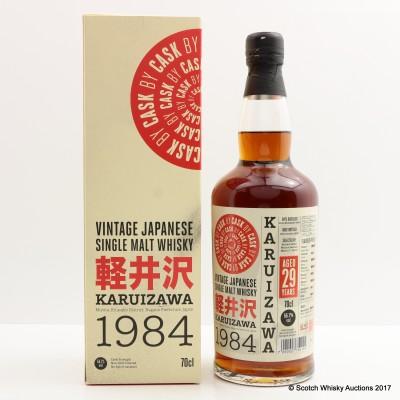 Karuizawa 1984 29 Year Old Cask #7802