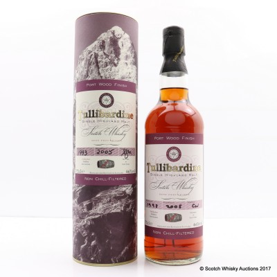 Tullibardine 1993 Port Wood Finish
