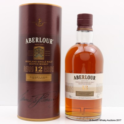 Aberlour 12 Year Old Sherry Cask 1L