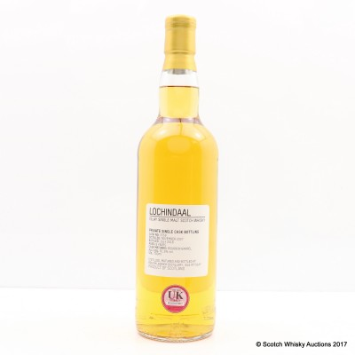 Lochindaal 2007 8 Year Old Private Cask #3358