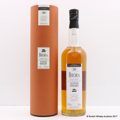 Brora 30 Year Old 2002 Release