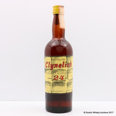 Clynelish 1965 24 Year Old For Mainardi Import 75cl