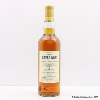 Port Charlotte 2002 15 Year Old Double Wood Matured Private Cask For Kjell Oberg
