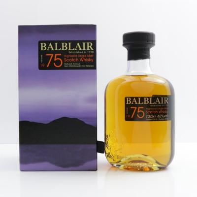 Balblair 1975 2012 Release