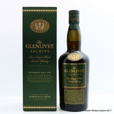 Glenlivet Archive Old Style