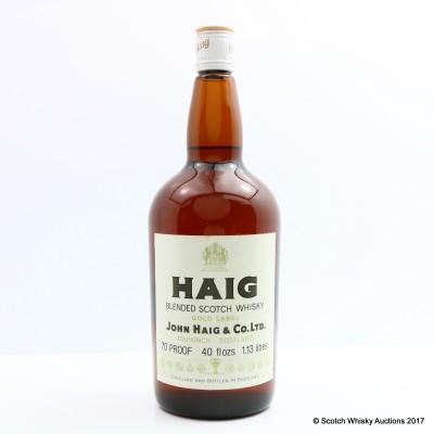 Haig Gold Label 40 Fl Ozs