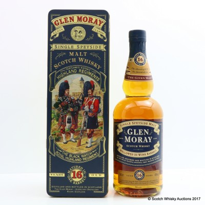 Glen Moray 16 Year Old Highland Regiments The Black Watch Royal Highland Regiment