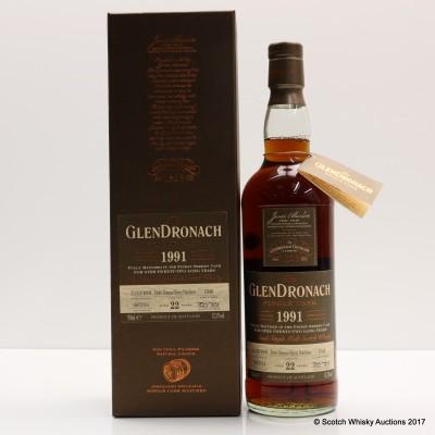GlenDronach 1991 22 Year Old Single Cask #1346