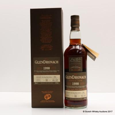 GlenDronach 1990 22 Year Old Single Cask #2966