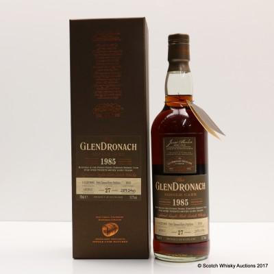 GlenDronach 1985 27 Year Old Single Cask #1035