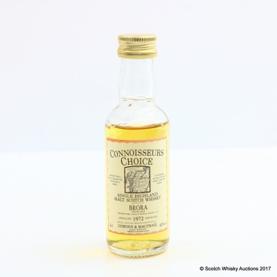 Brora 1972 Connoisseurs Choice Mini 5cl