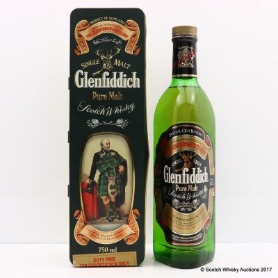 Glenfiddich Clans Of The Highlands Of Scotland Clan Campbell of Breadalbane 75cl