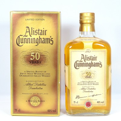 Alistair Cunningham's 50 Years 75cl