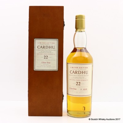 Cardhu 1982 22 Year Old Limited Edition