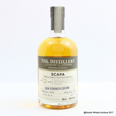 Scapa 2003 12 Year Old Distillery Reserve Collection 50cl