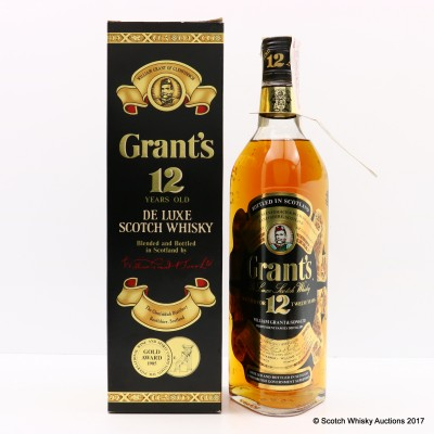 Grant's 12 Year Old 75cl