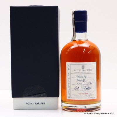 Chivas Royal Salute The Eternal Reserve 'Project Silk' 50cl