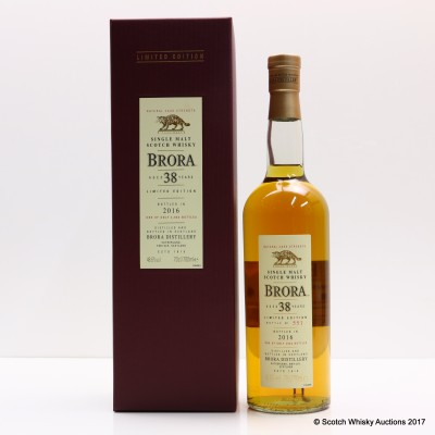 Brora 38 Year Old 2016 Release